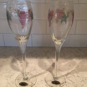 Other - Hand painted wine/champagne flute